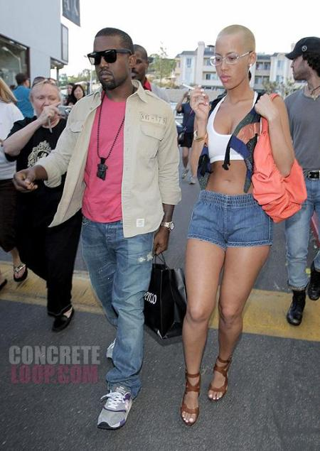 Brilliant New Girlfriend Amber Rose Convinces Kanye To Get A Hair Cut Very Short Hairstyles Gunalazisus