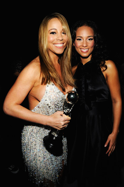 Mariah carey alicia keys amp tyra banks must see