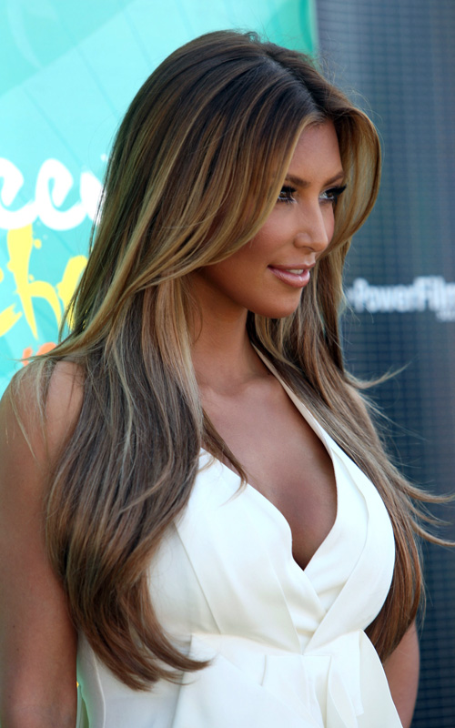 pictures of kim kardashians hair. kim kardashian hair updos. kim