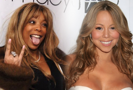 Image result for wendy williams + mariah carey