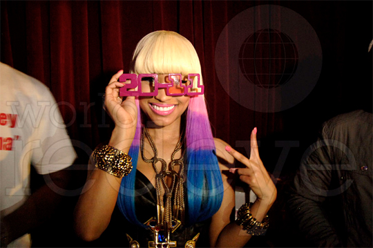 CLICK ON NICKI TO PEEP A IN DEPTH BEHIND THE SCENES LOOK AT HER NEW YEARS