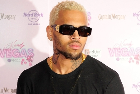 chris brown faggot